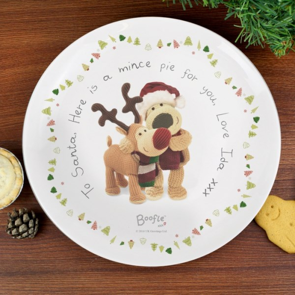 Boofle Christmas Reindeer Mince Pie Plate