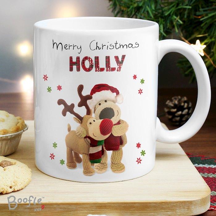 Boofle Christmas Reindeer Mug