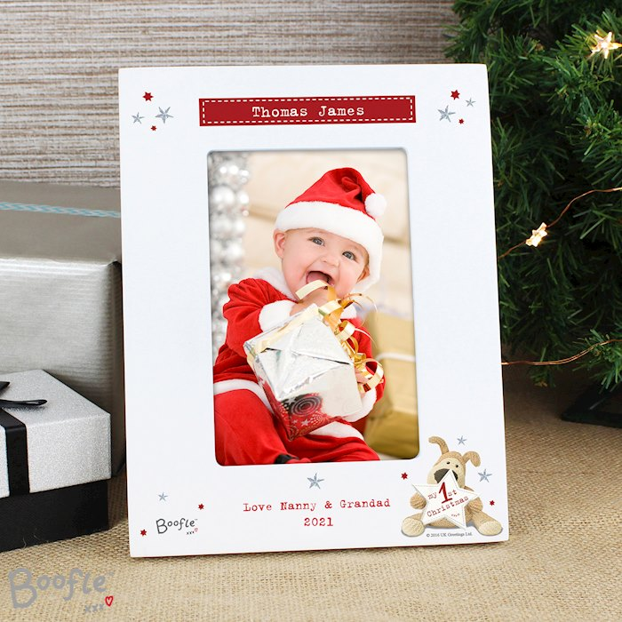 Boofle My 1st Christmas 4x6 Photo Frame