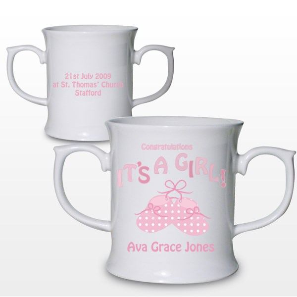Bootee It's a Girl Loving Mug