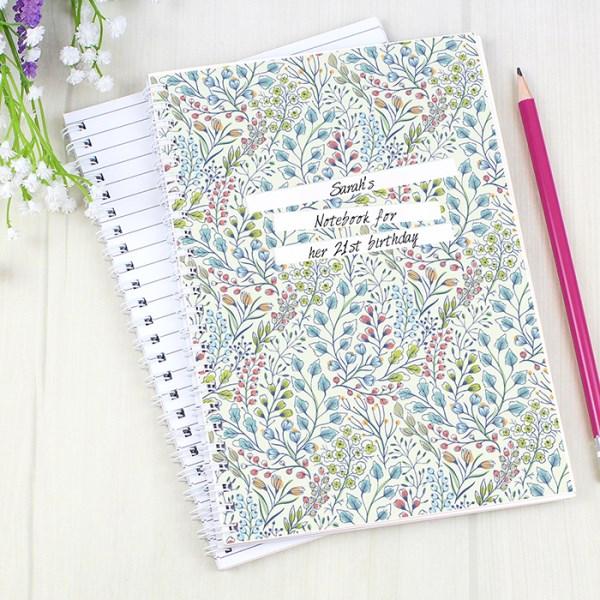 Botanical A5 Notebook