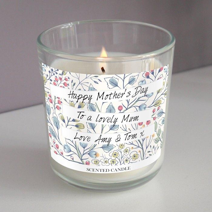 Botanical Scented Jar Candle