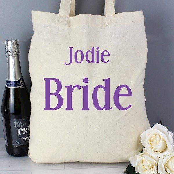 Bride Cotton Bag