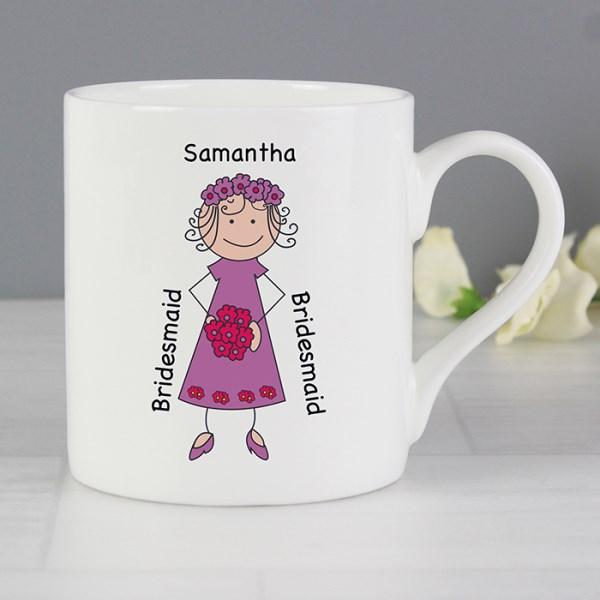Bridesmaid Balmoral Mug