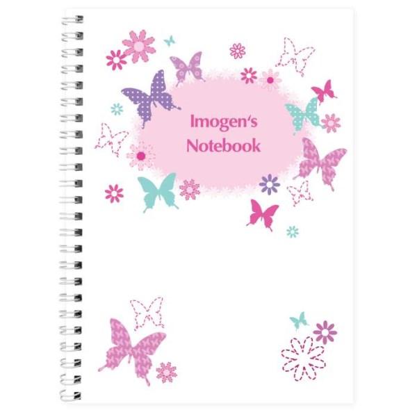 Butterfly A5 Notebook