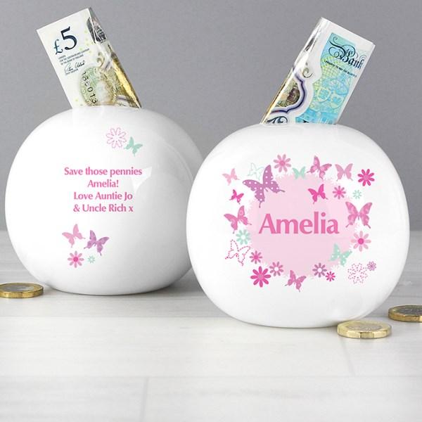 Butterfly Money Box