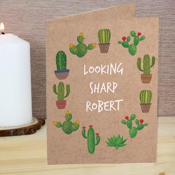Cactus Card