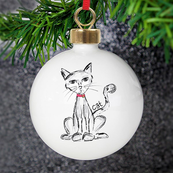 Cat Bauble