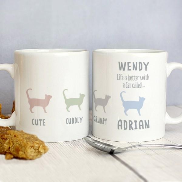 Cat Qualities Mug