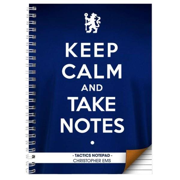 Chelsea Keep Calm A4 Notebook