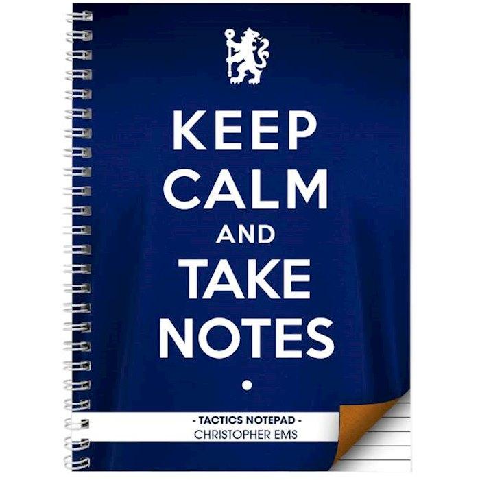 Chelsea  Keep Calm A5 Notebook