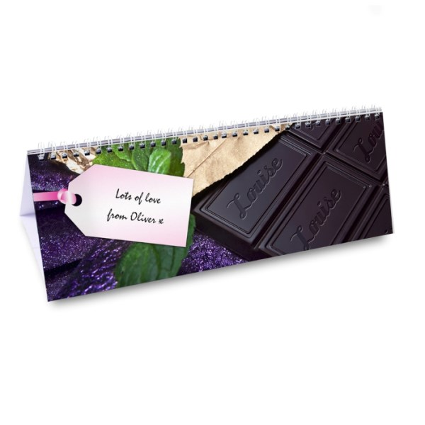 Chocolate Desk Calendar