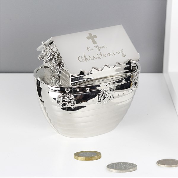 Christening Noah's Ark Money Box