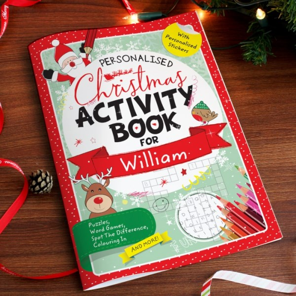 Christmas Activity Book with Stickers