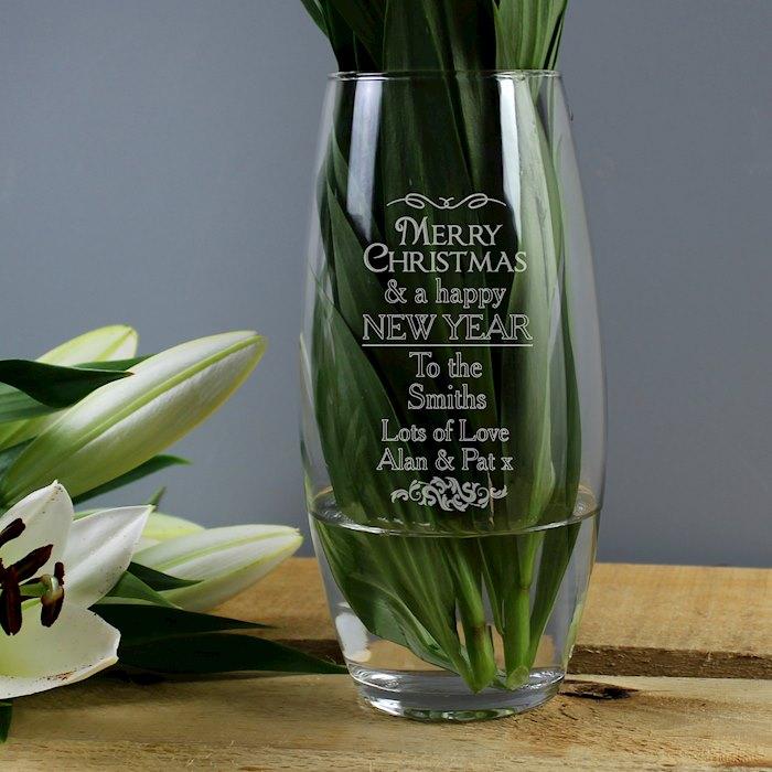 Christmas Bullet Vase