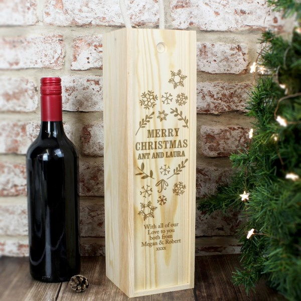 Christmas Frost Bottle Presentation Box