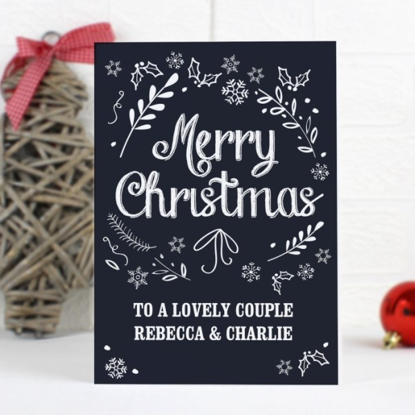 Christmas Frost Card