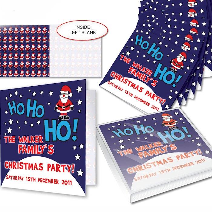 Christmas Santa Pack of 20 Invitations