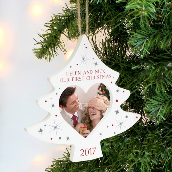 Christmas Tree Photo Frame Decoration