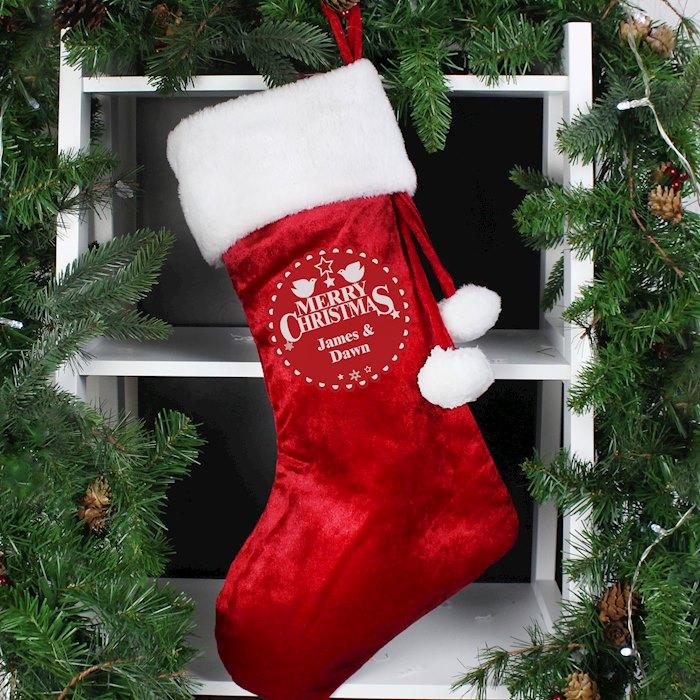 Christmas Wishes Stocking
