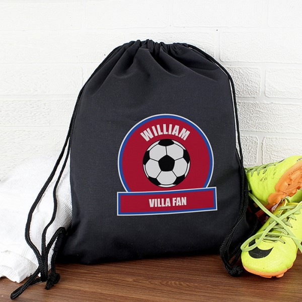 Claret and Blue Football Fan Swim & Kit Bag