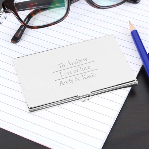 Classic Business Card Holder