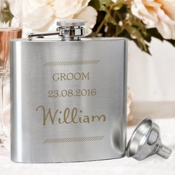 Classic Stainless Steel Hip Flask