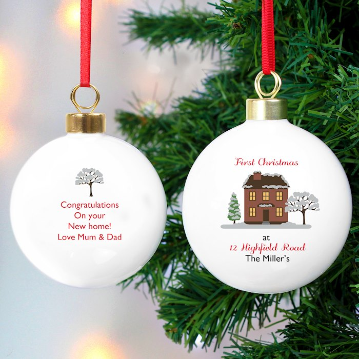 Cosy Christmas Bauble