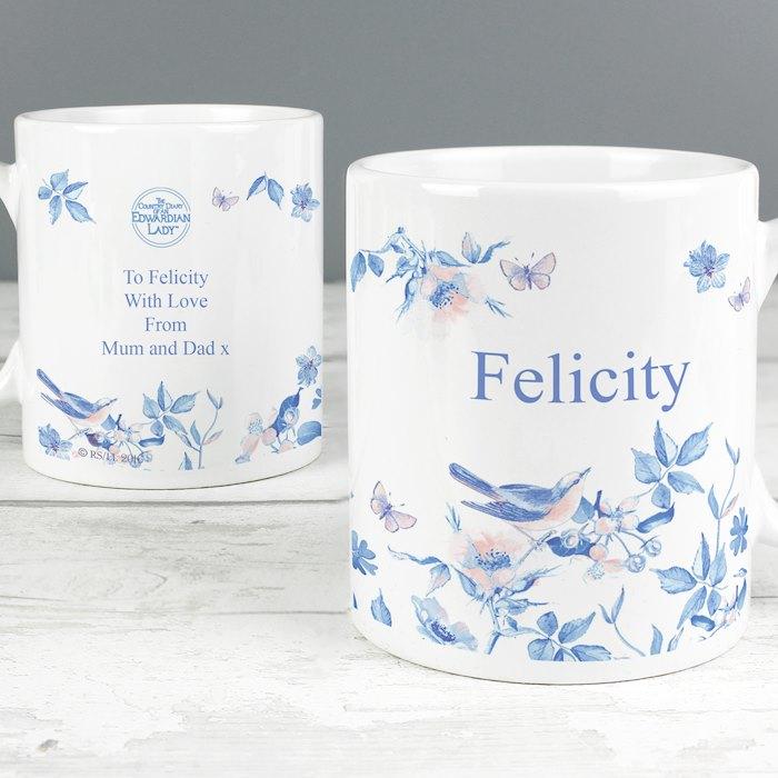 Country Diary Blue Blossom Mug