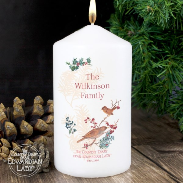 Country Diary Midwinter Candle