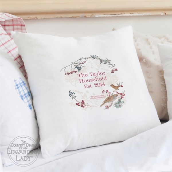 Country Diary Midwinter Cushion Cover