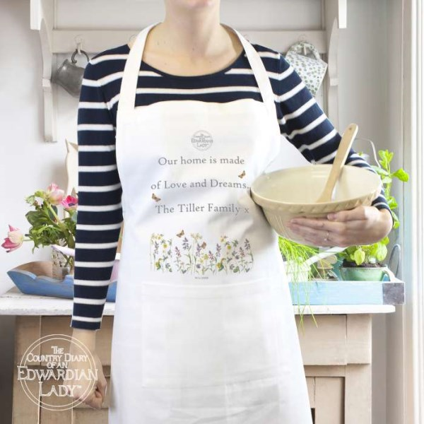 Country Diary Wild Flowers Apron