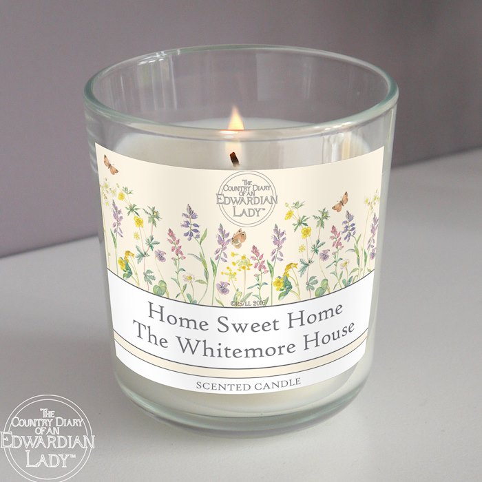 Country Diary Wild Flowers Scented Jar Candle