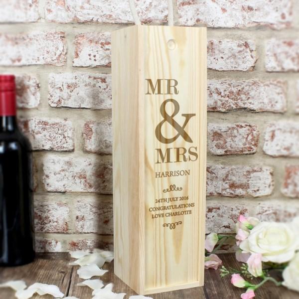Couples Bottle Presentation Box
