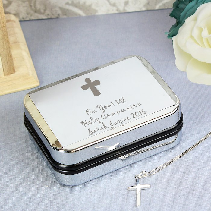 Cross Necklace and Box