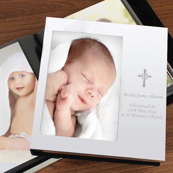 Cross Photo Frame Album 4x6