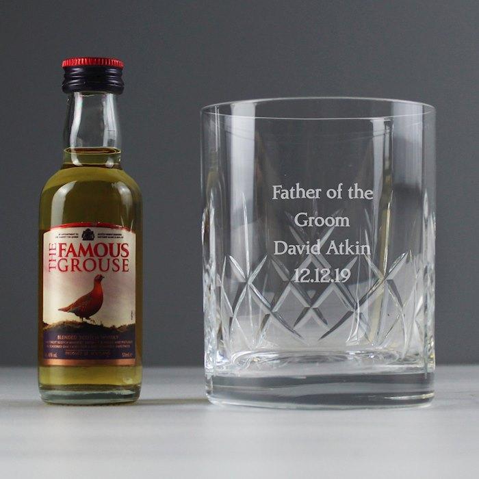 Cut Crystal & Whisky Gift Set
