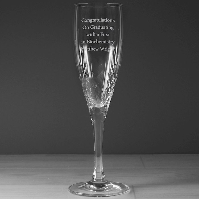 Cut Crystal Champagne Flute