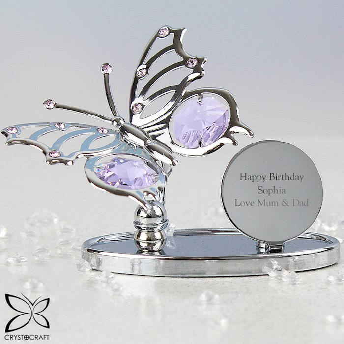 Crystocraft Butterfly Ornament