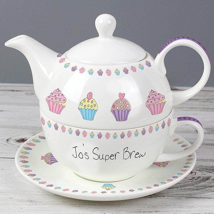 Cupcake Tea for One