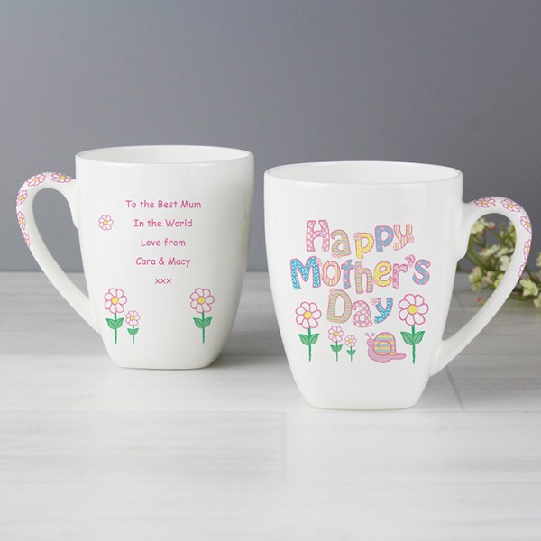 Daisy Mother's Day Latte Mug