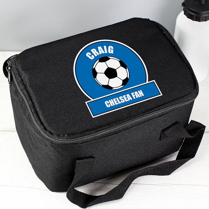 Dark Blue Football Fan Lunch Bag
