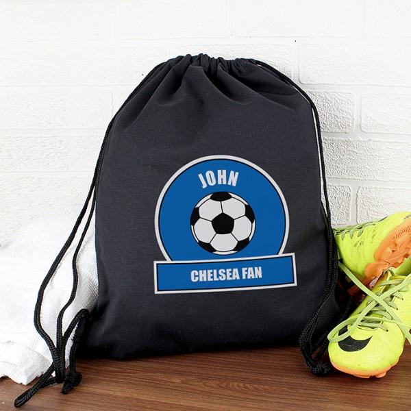 Dark Blue Football Fan Swim & Kit Bag