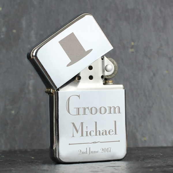 Decorative Wedding Groom Lighter