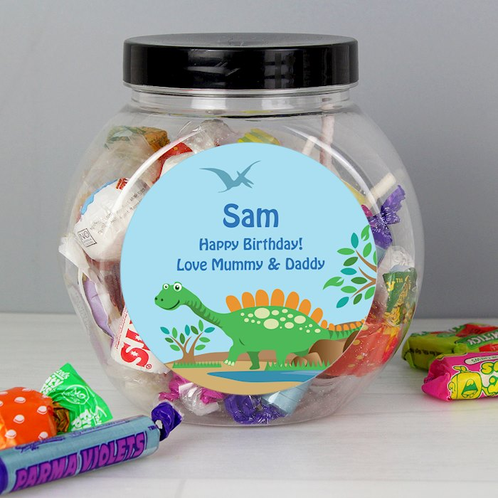 Dinosaur Sweets Jar