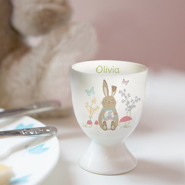 Easter Meadow Bunny Egg Cup