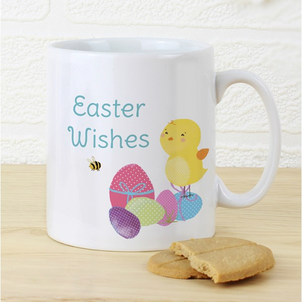 Easter Meadow Chick Mug