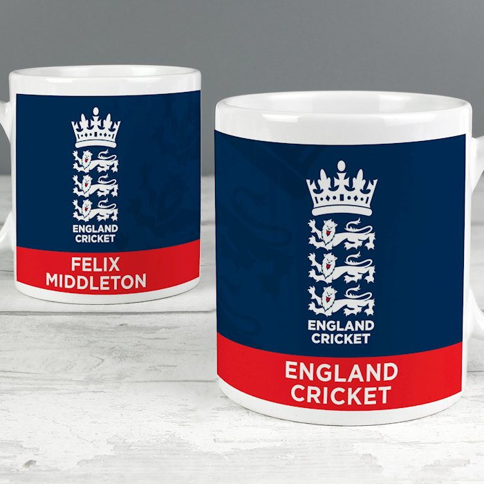 England Cricket Bold Crest Mug