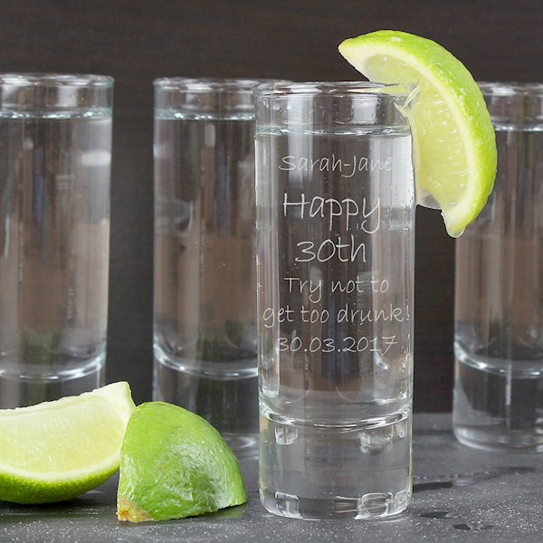 Engraved Shot Glass