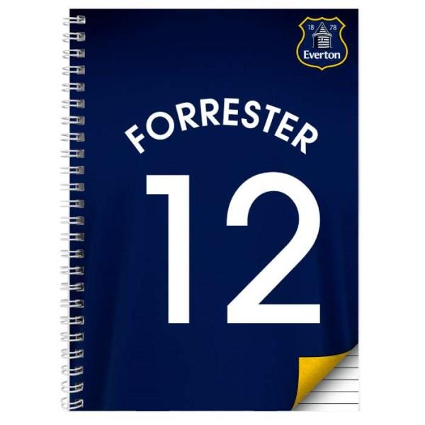 Everton A4 Notebook